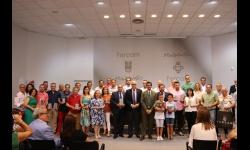 Foto de grupo de los galardonados y autoridades