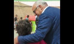 Julián Nieva muestra su compromiso con los derechos de la infancia