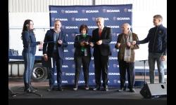 Reinauguración de las instalaciones de R. Peinado y celebración del 50º aniversario del motor V8 de Scania