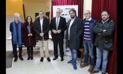 Sergio del Molino y Ángel Raúl Ruiz Pulpón en la Escuela de Ciudadanía