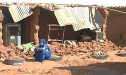 Estado de los campamentos tras las inundaciones. Foto: Hausa