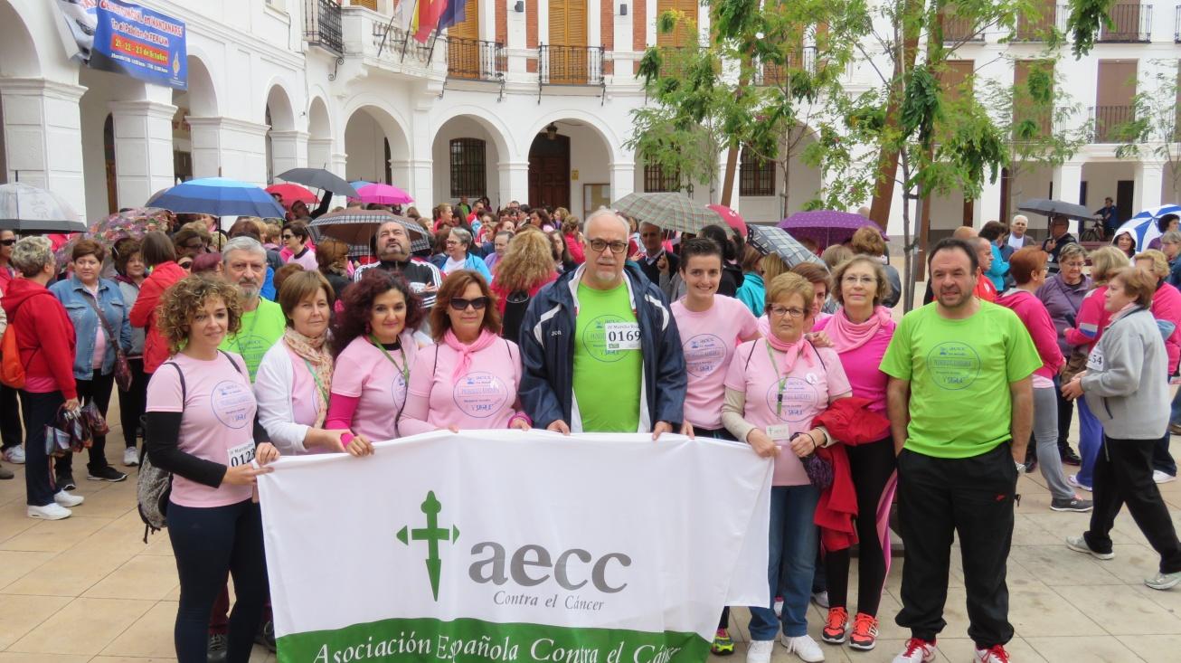 Inicio de la 4ª Marcha Rosa contra el cáncer de mama