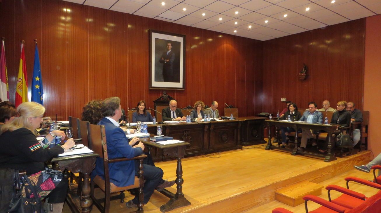 Pleno de octubre en el Ayuntamiento de Manzanares