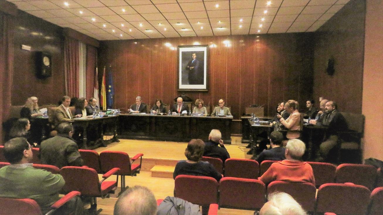 Pleno del Ayuntamiento de Manzanares. Noviembre 2016