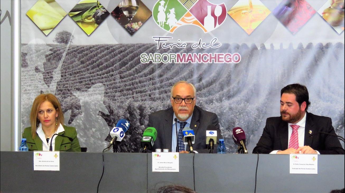 Presentación de la II Feria del Sabor Manchego