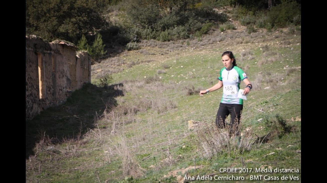 Marta Molina, durante la prueba de Cuenca