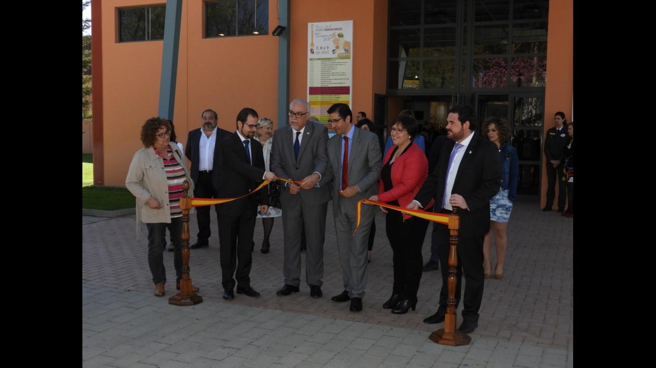 Inauguración de la II Edición de la Feria del Sabor Manchego -FERSAMA - en Manzanares