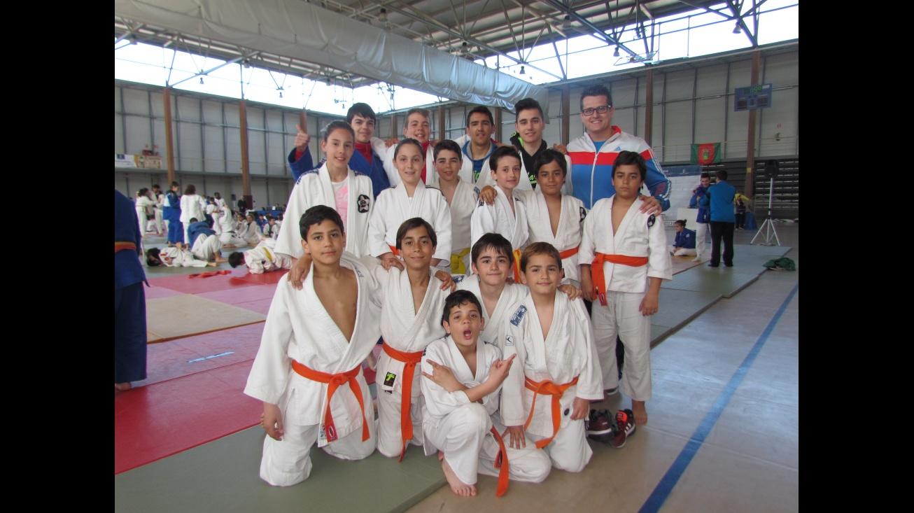 Competidores manzanareños en la fase disputada en Talavera de la Reina