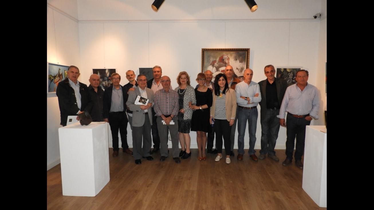 Inauguración de la exposición de pintura y escultura de José Fernández-Arroyo