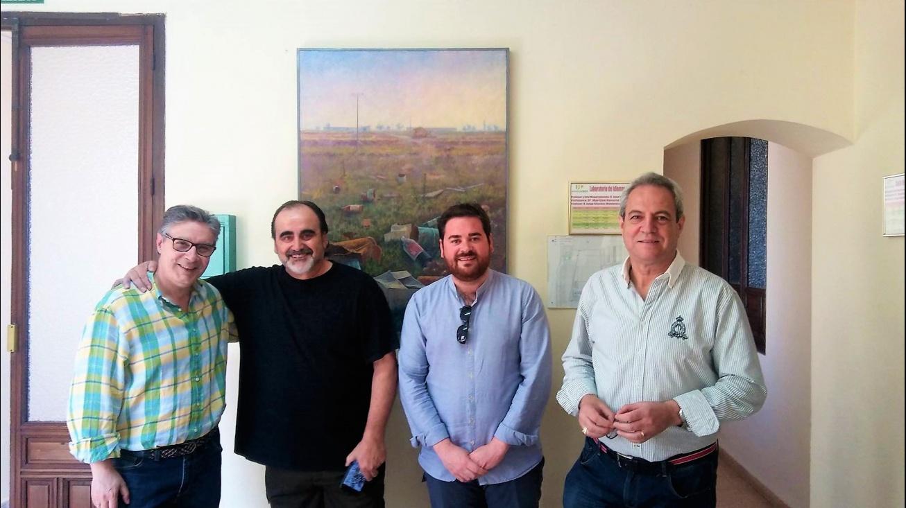 Master Class en la Universidad Popular de Manzanares con el artista Fermín García Sevilla