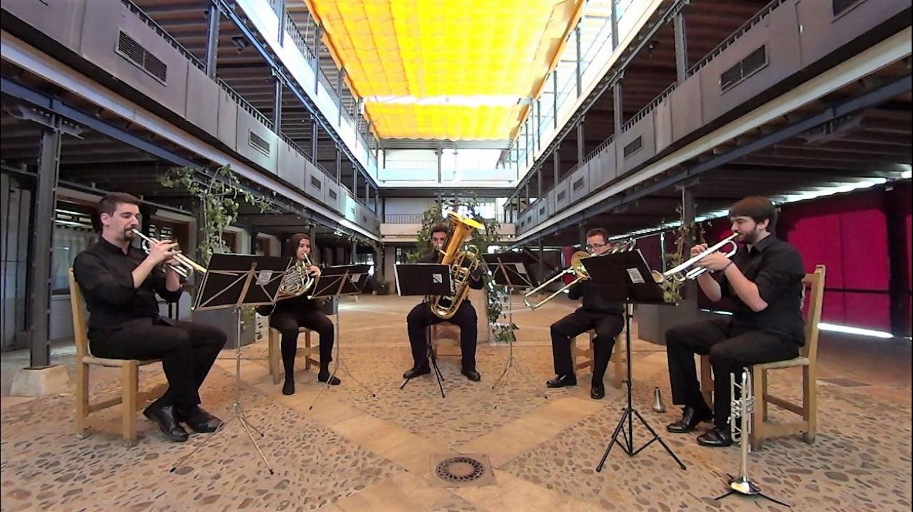 Calatrava Brass Quintet es uno de los grupos que actúa