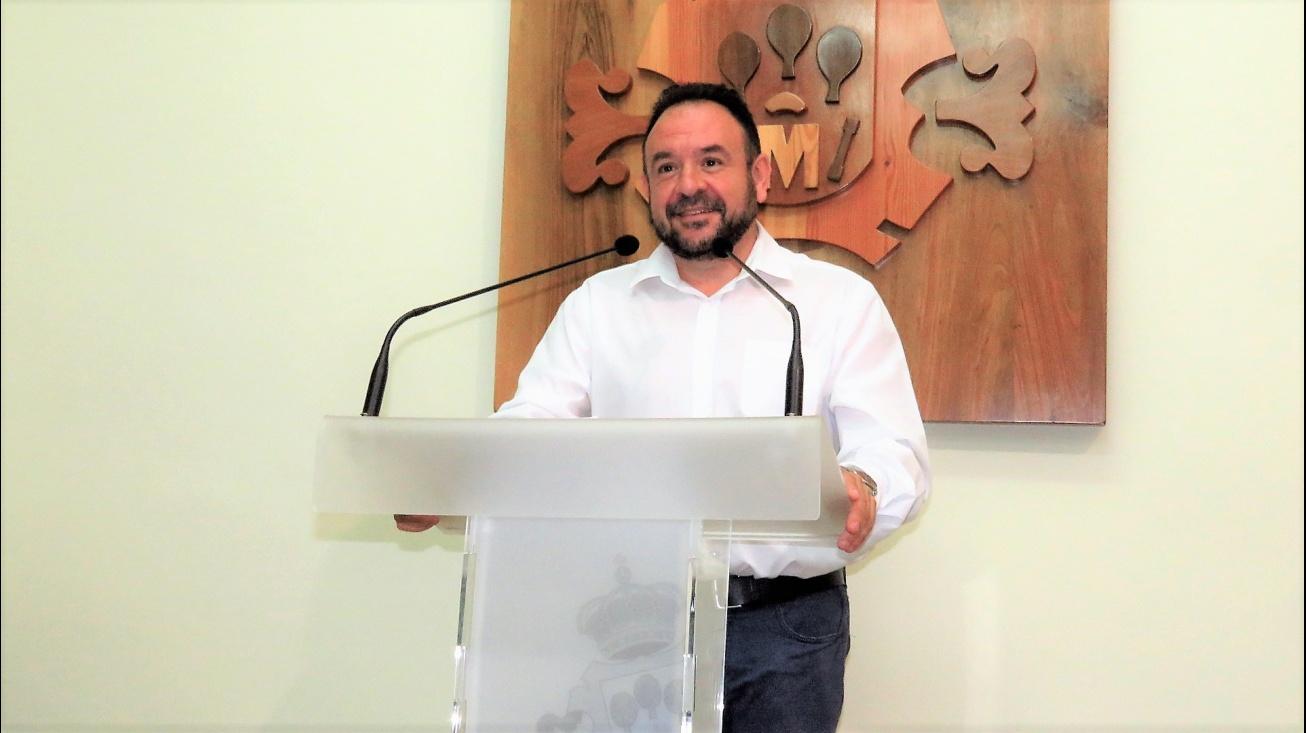 Juan López de Pablo en rueda de prensa
