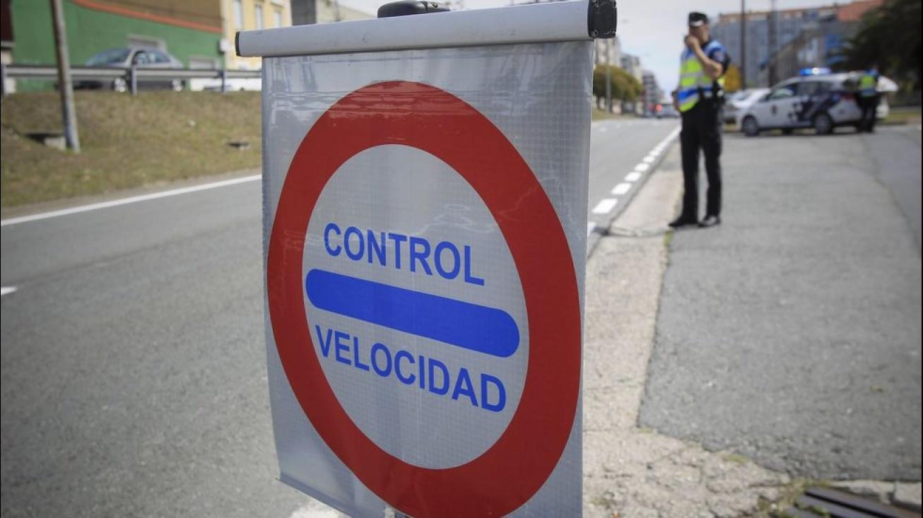 Campaña control de velocidad en Manzanares