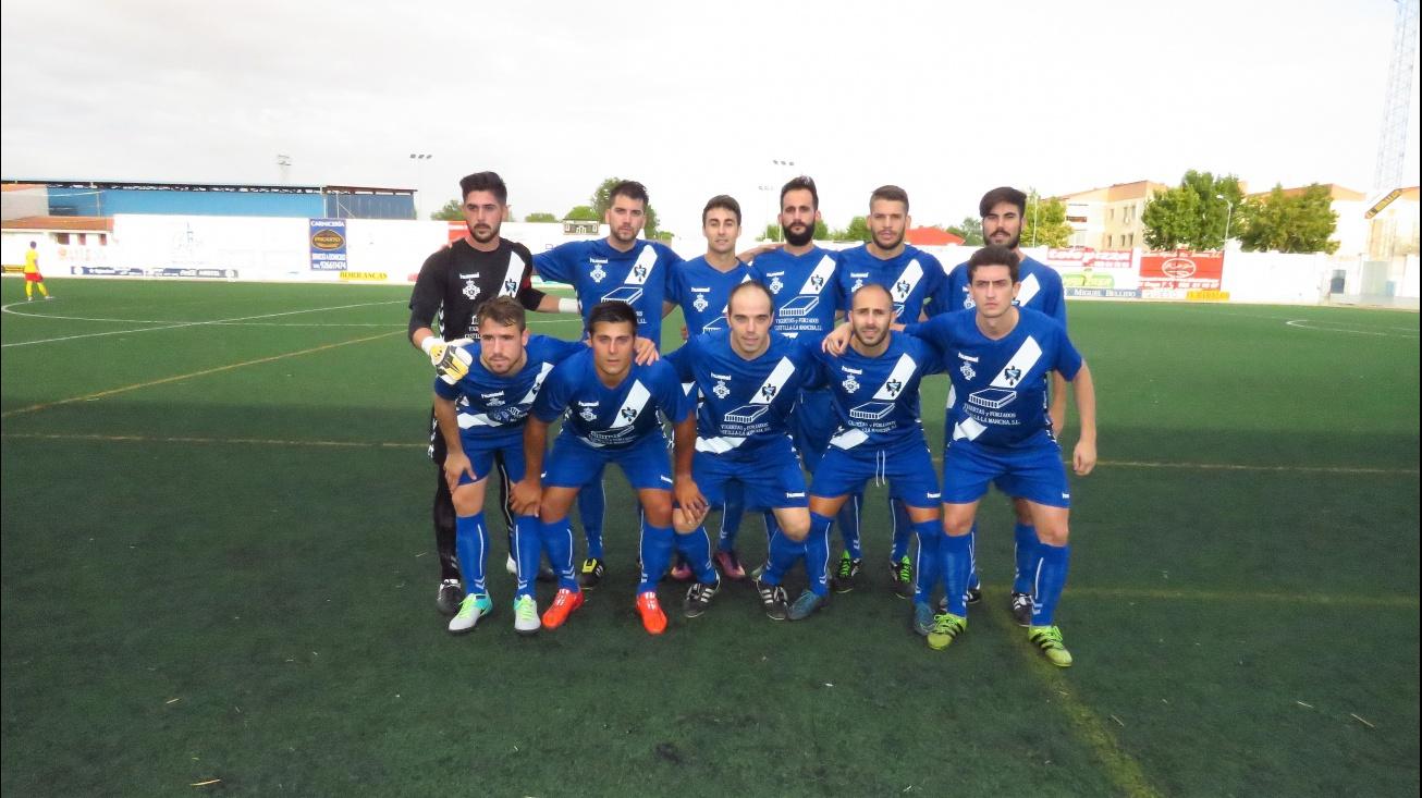 Once titular del Manzanares CF ante La Gineta