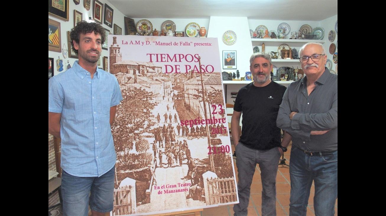 """Presentación de """"Tiempos de Paso"""" de la Agrupación de Música y Danza """"Manuel de Falla"""" Manzanares"""