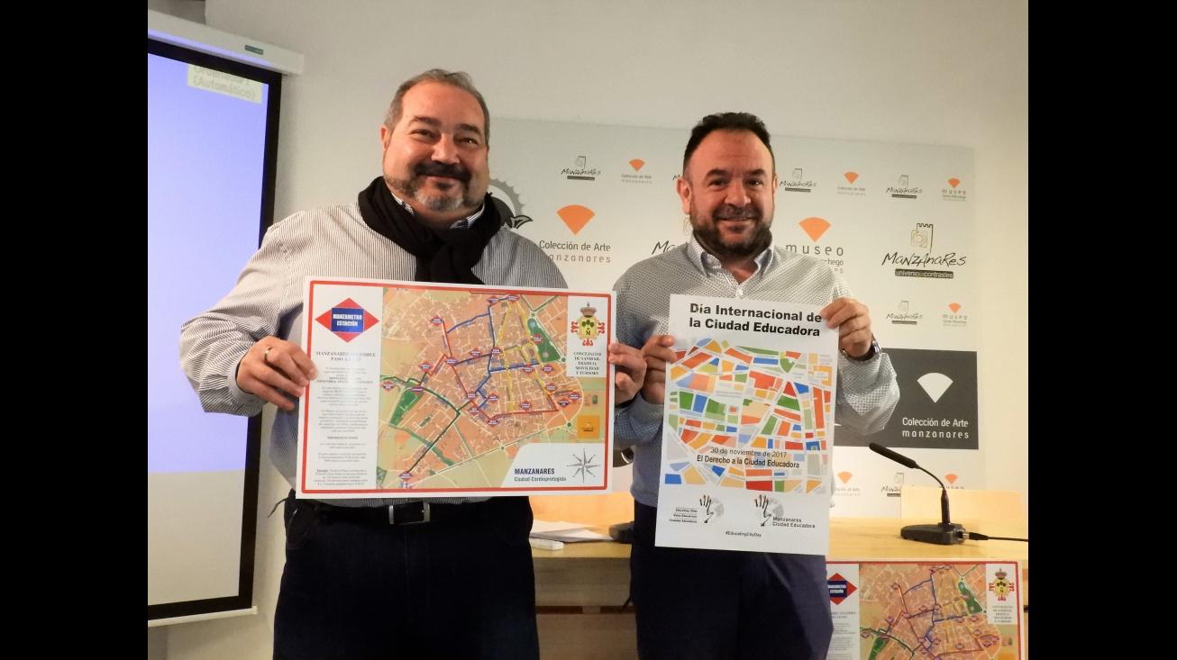 MIguel Ramírez y Juan López de Pablo han presentado las actividades programadas