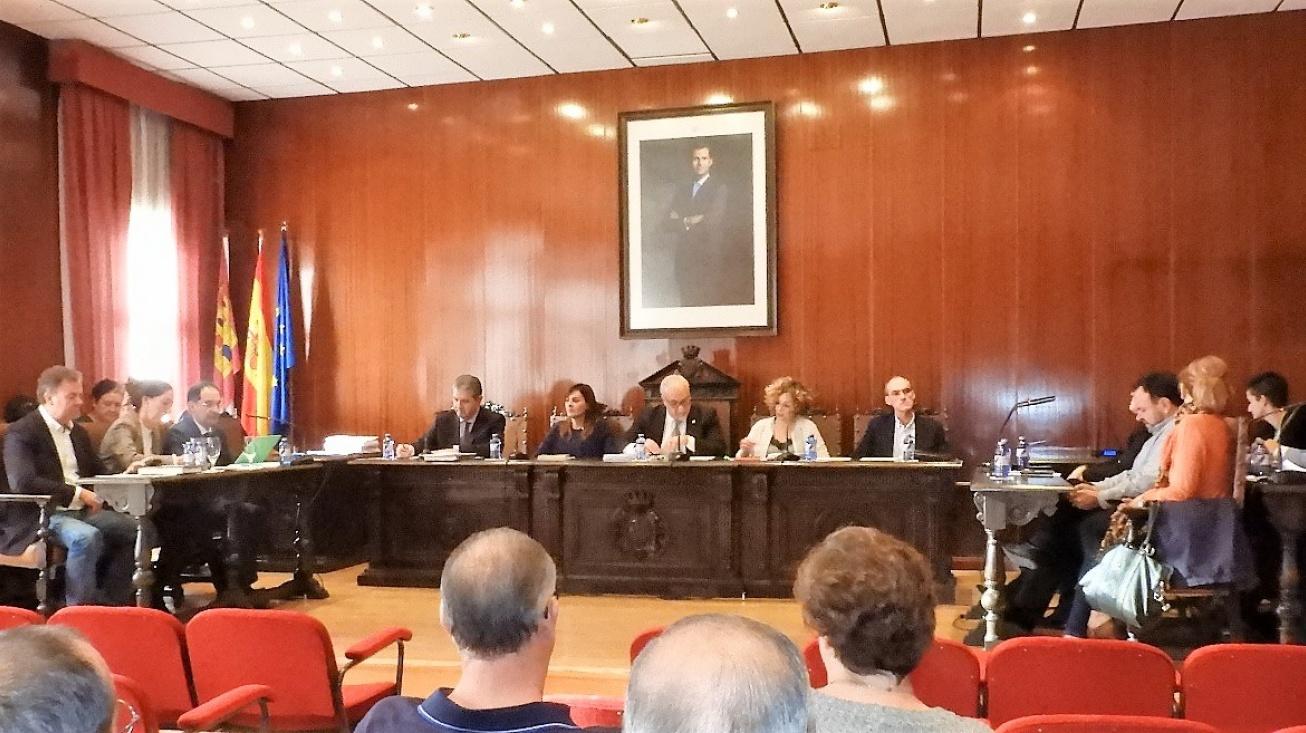 Sesión plenaria de octubre en el Ayuntamiento de Manzanares