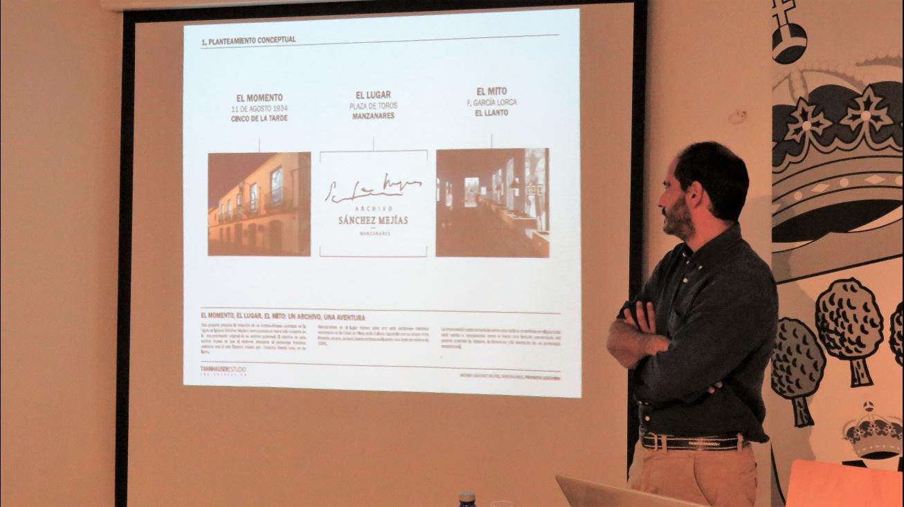 Presentación del proyecto a cargo de Antonio Fernández
