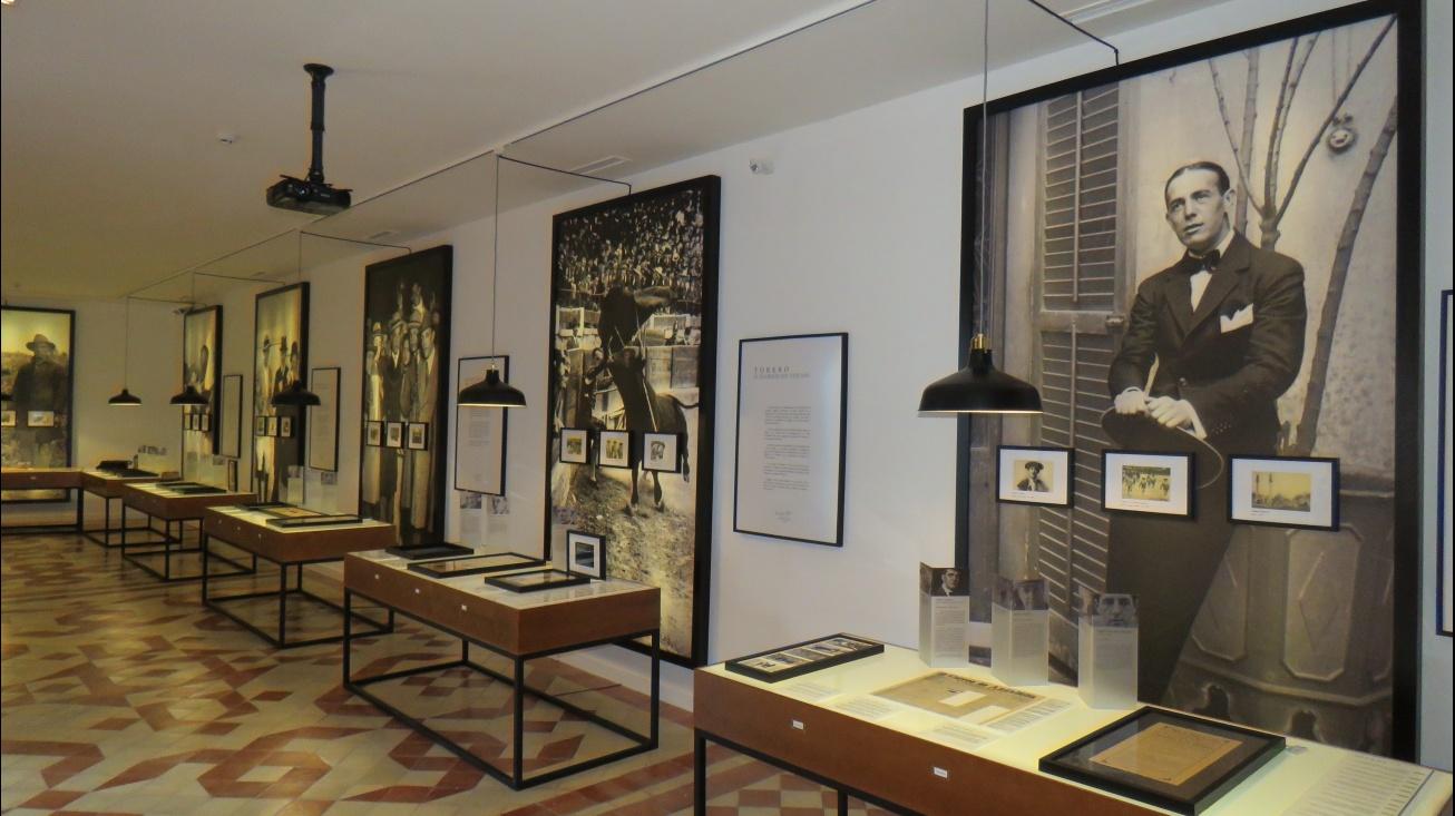 Interior de una de las galerías del Archivo Museo dedicado a Sánchez Mejías