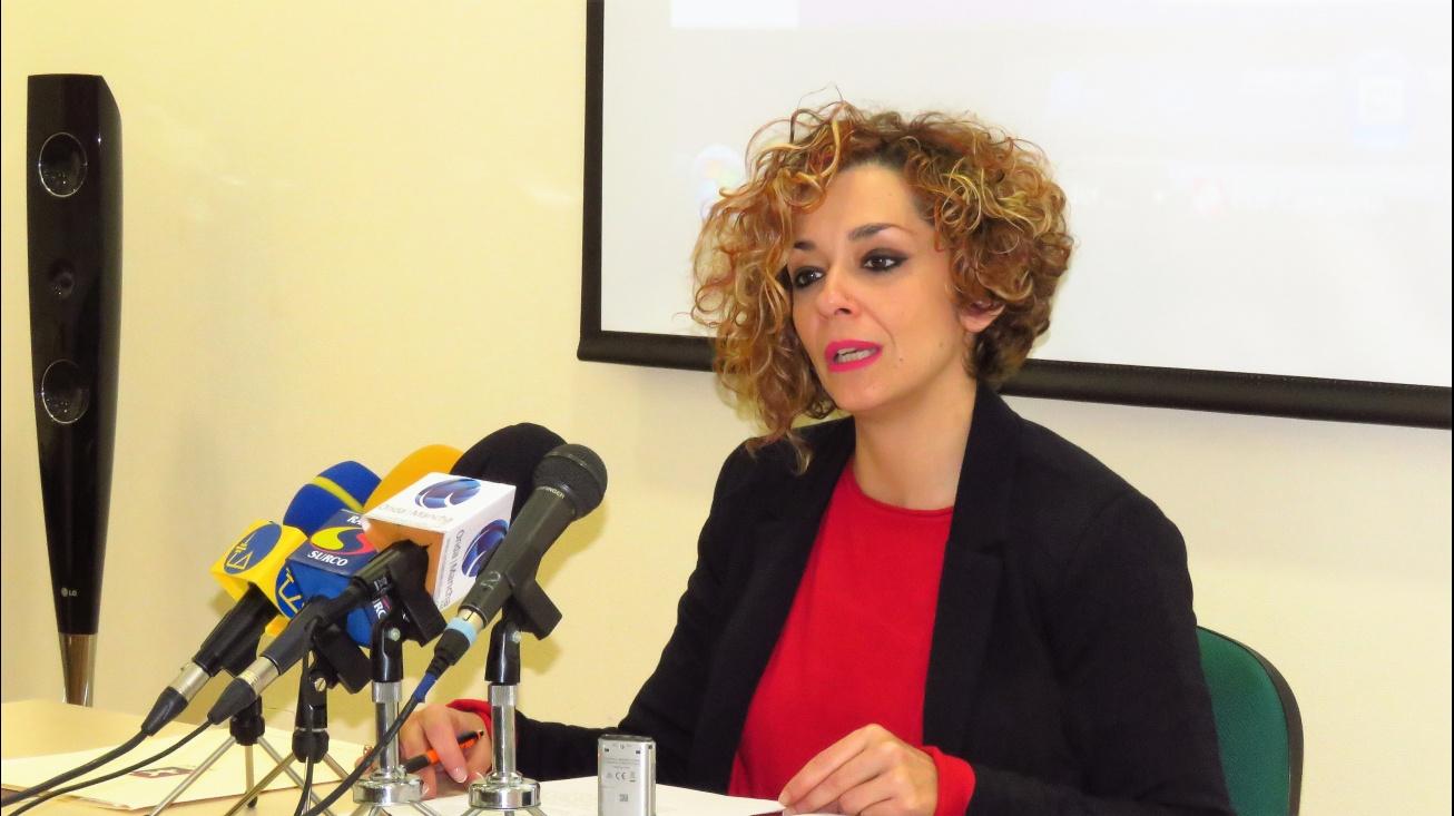 Rueda de prensa de Beatriz Labián en el Centro de la Mujer (archivo)