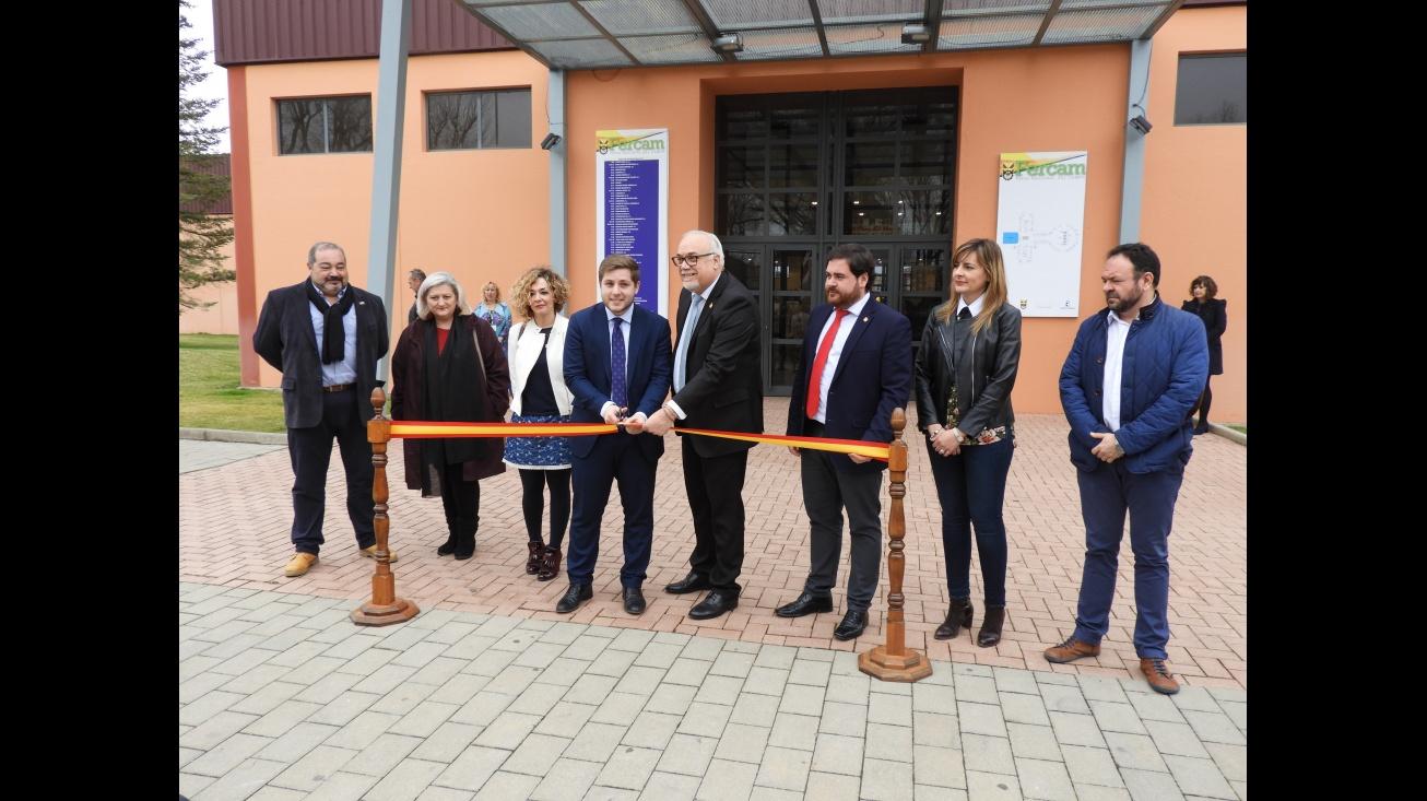 Inauguración de la XI Feria del Stock de Manzanares