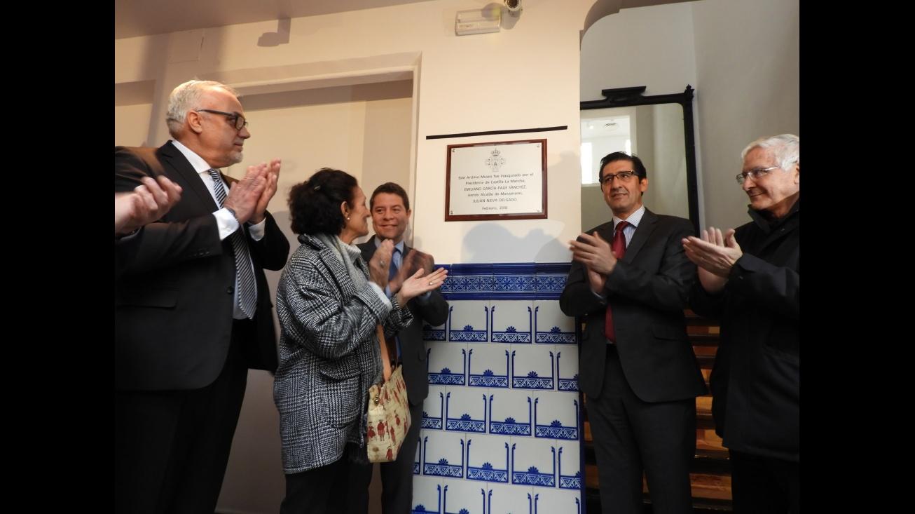 Inauguración del Archivo-Museo Sánchez Mejías