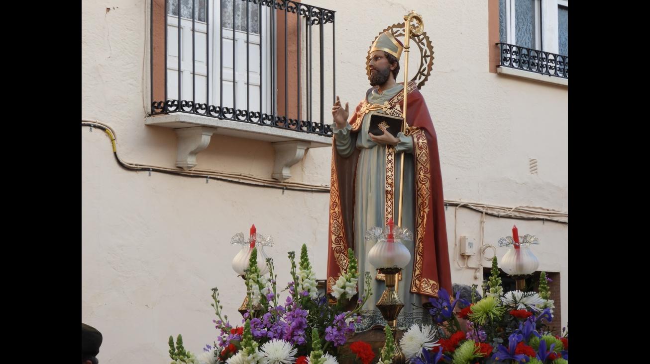 San Blas recorrió las calles de Manzanares este sábado