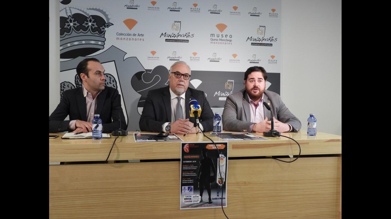Presentación de la Copa Zonal de Baloncesto