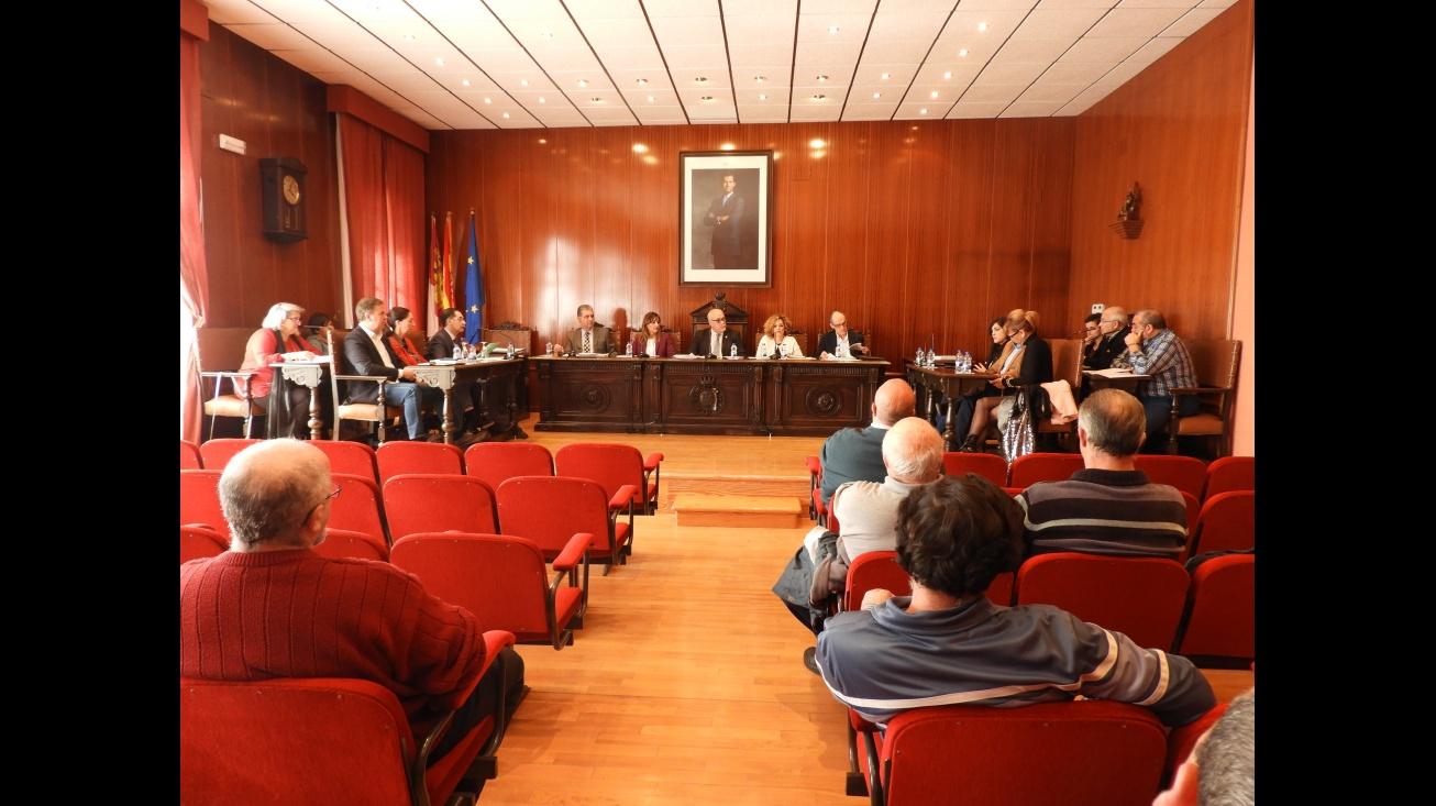 Sesión plenaria de marzo en el Ayuntamiento de Manzanares