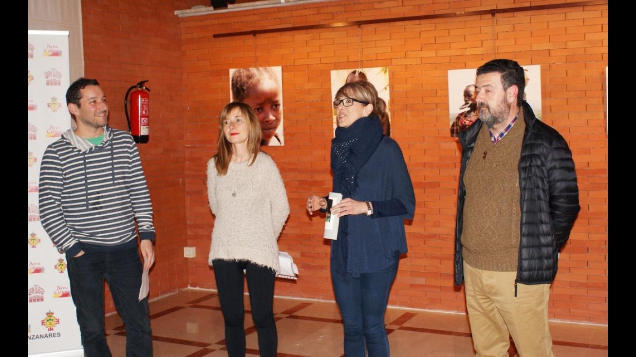 Inauguración de la exposición en el Gran Teatro