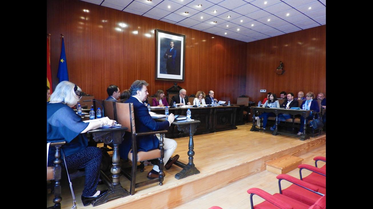 Pleno del Ayuntamiento de Manzanares correspondiente al mes de mayo 2018