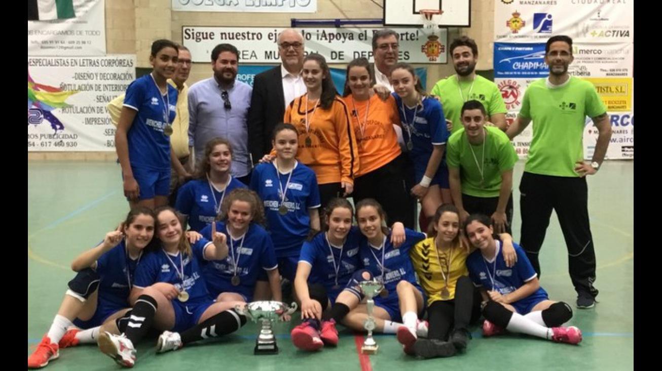 Las campeonas del sector jugarán el Campeonato Estatal entre los 8 mejores equipos de España
