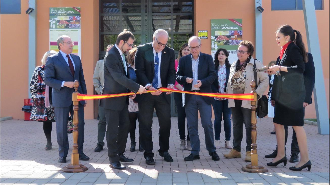Inauguración de la 3ª Feria del Sabor Manchego