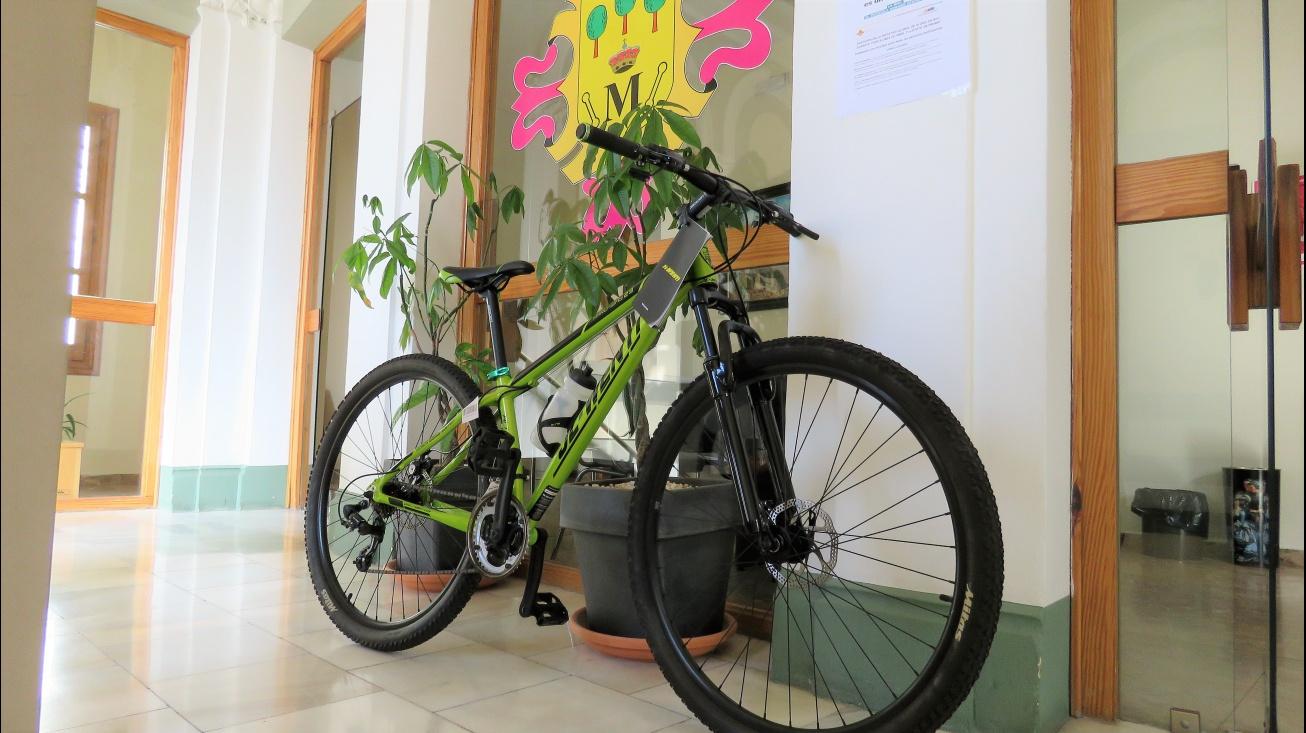 Bicicleta a sortear entre quienes participaron en el concurso fotográfico