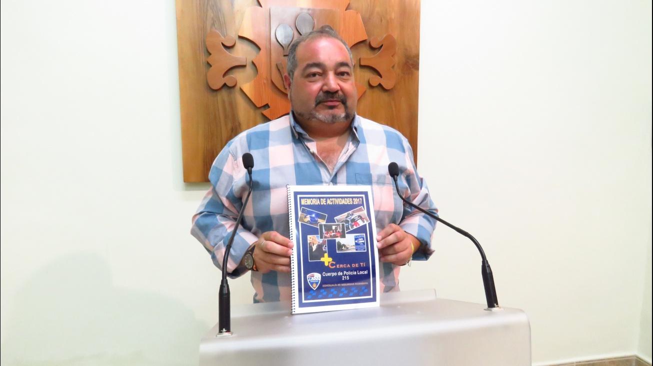 Miguel Ramírez. Concejal de Seguridad Ciudadana y Tráfico