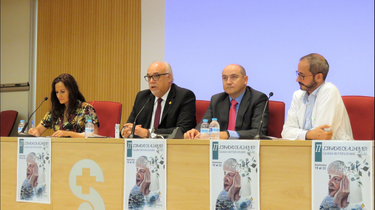 Inauguración de las jornadas a cargo del alcalde