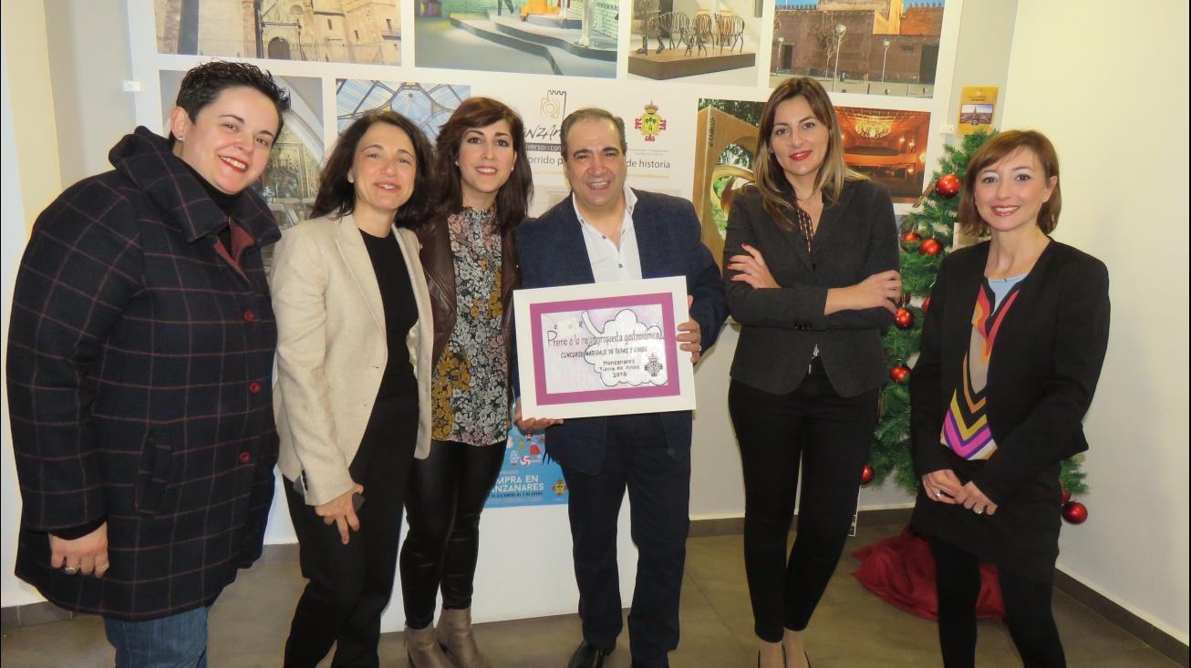 Entrega de premios de Manzanares Tierra de Vinos