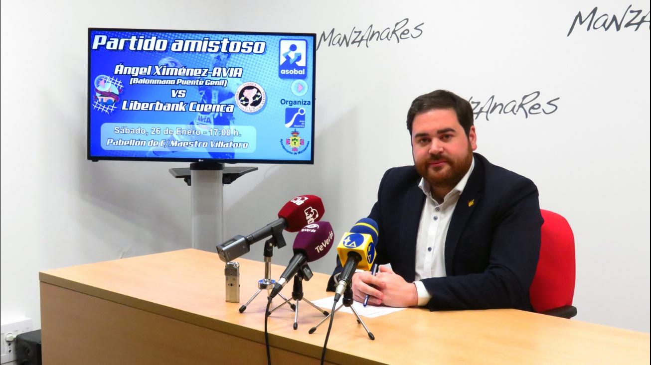 Presentación del partido de ASOBAL a celebrar en Manzanares
