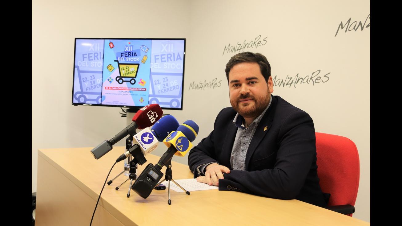 Pablo Camacho ha presentado la nueva edición de la Feria del Stock
