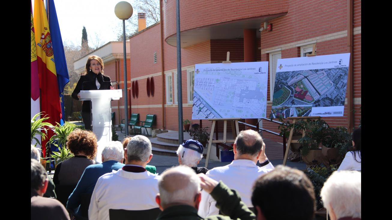 Aurelia Sánchez durante la presentación del anteproyecto