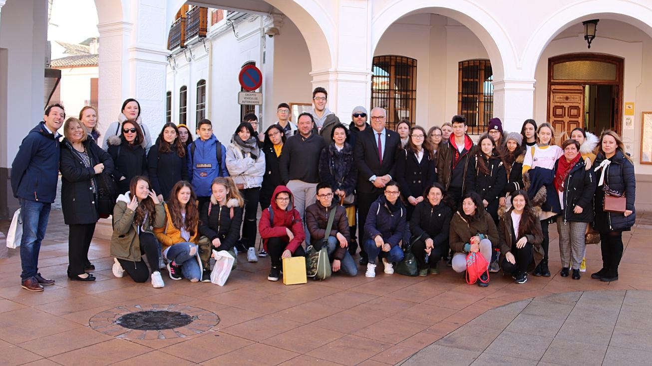 Recepción alumnado Erasmus+