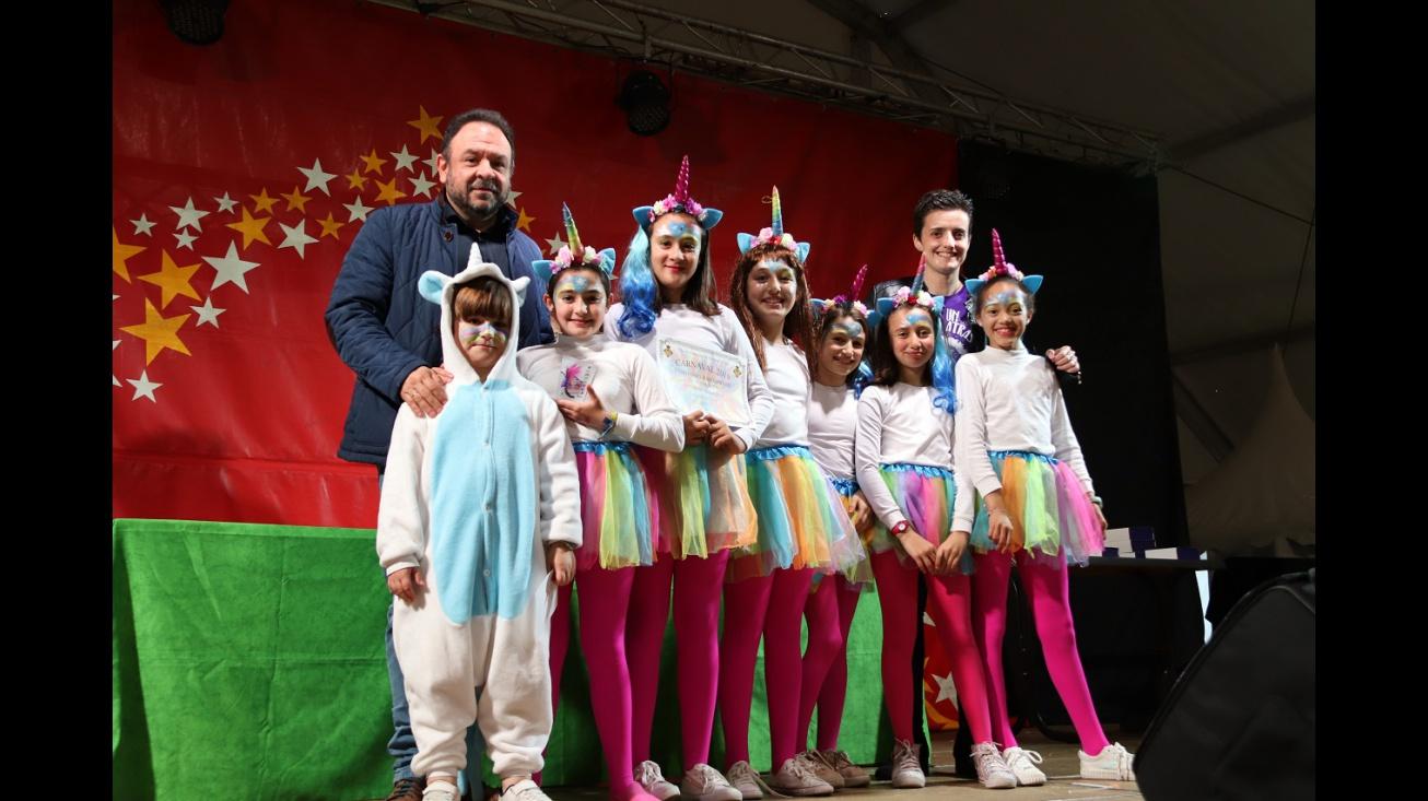 Premios del concurso de disfraces infantiles