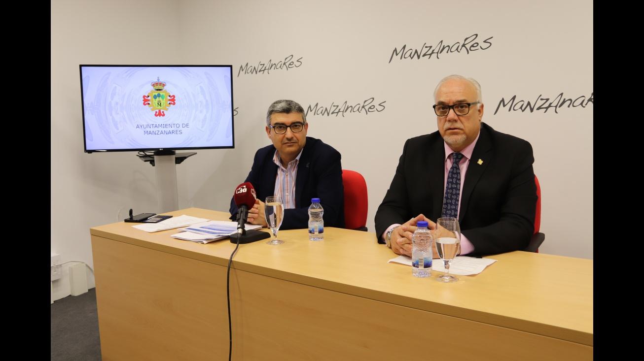 Julián Nieva y Francisco José Navarro