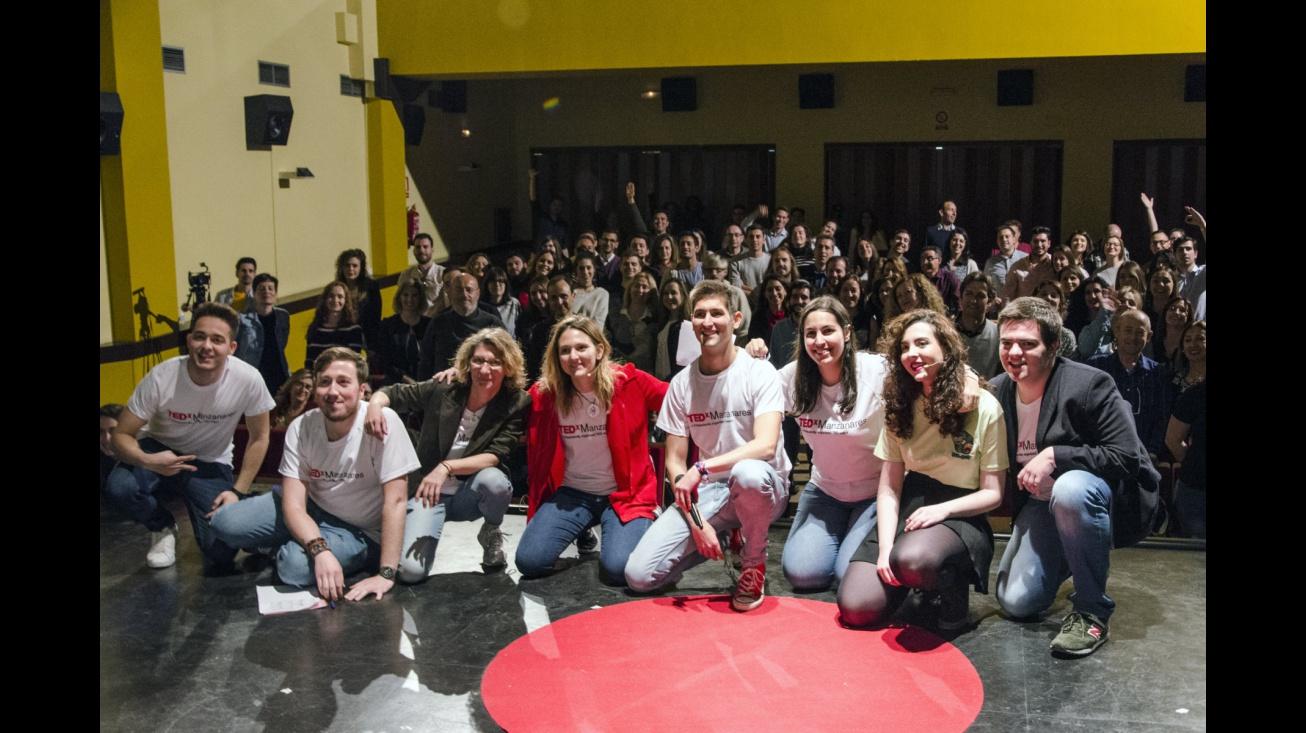 Organizadores y colaboradores de TEDx Manzanares
