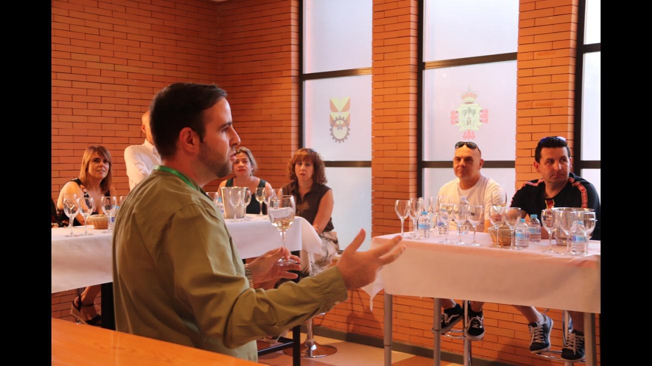 Cata de vino en Fercam 2019