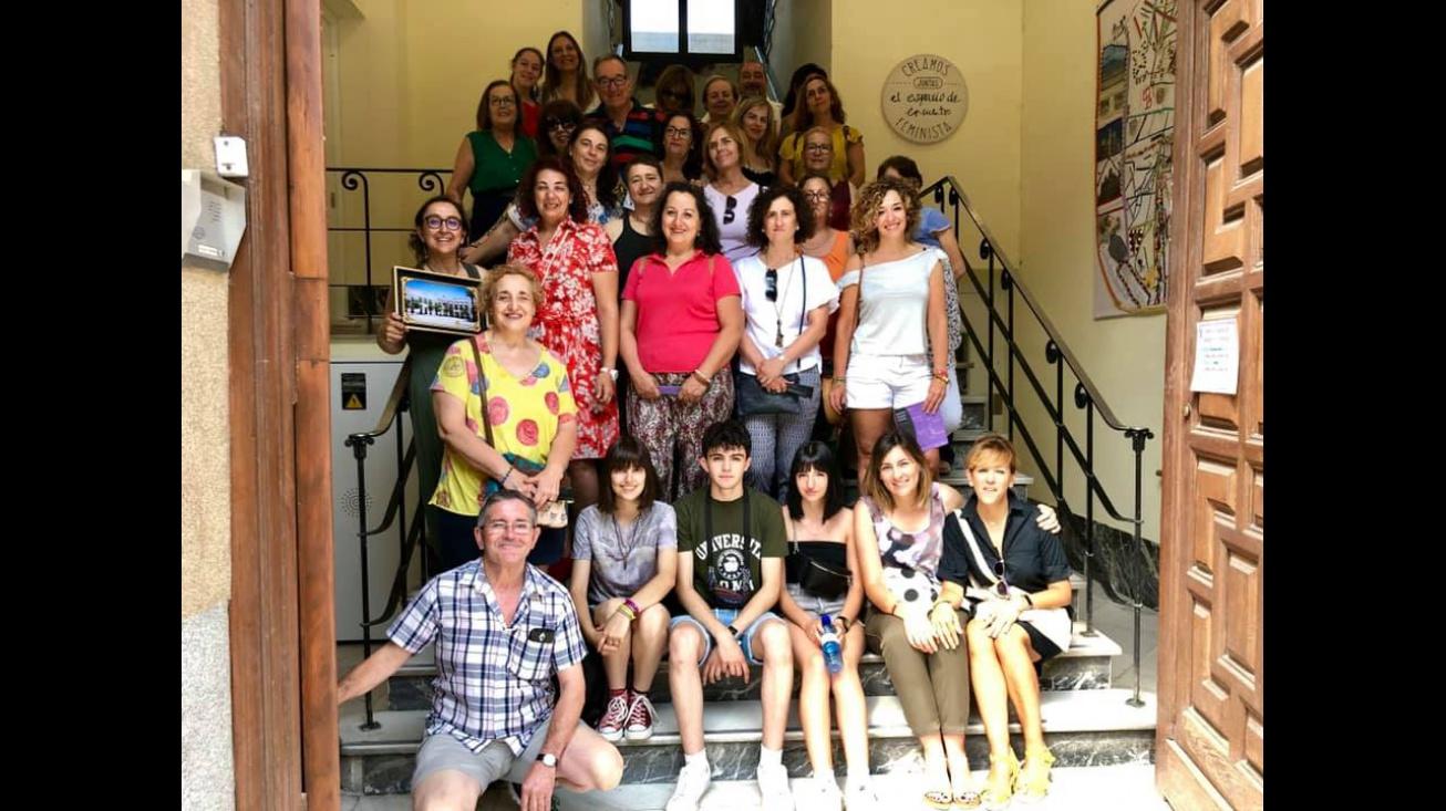 El área de Políticas de Igualdad aúna sinergias con el Espacio de Encuentro Feminista