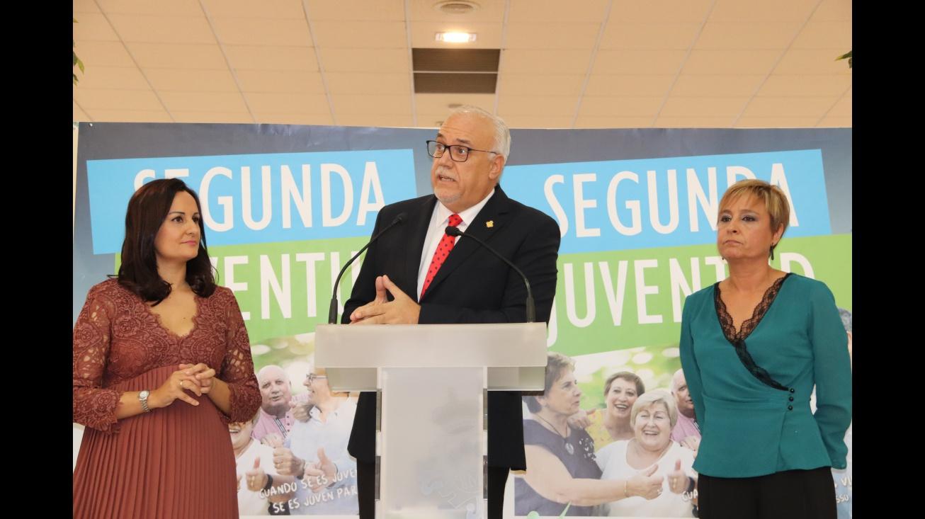 Intervención del alcalde en la comida de homenaje a las personas mayores