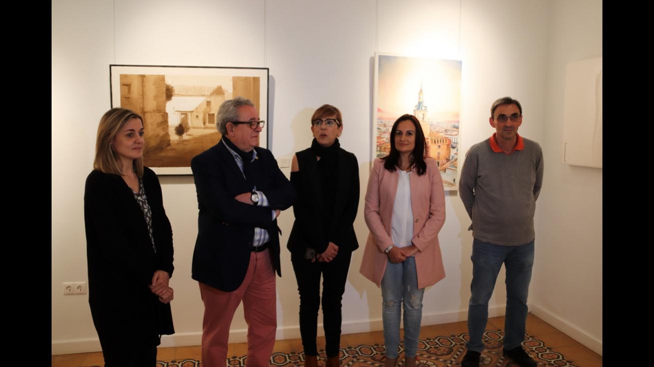 Exposición del V Certamen Nacional de Pintura Rápida 'Manzanares y su entorno'