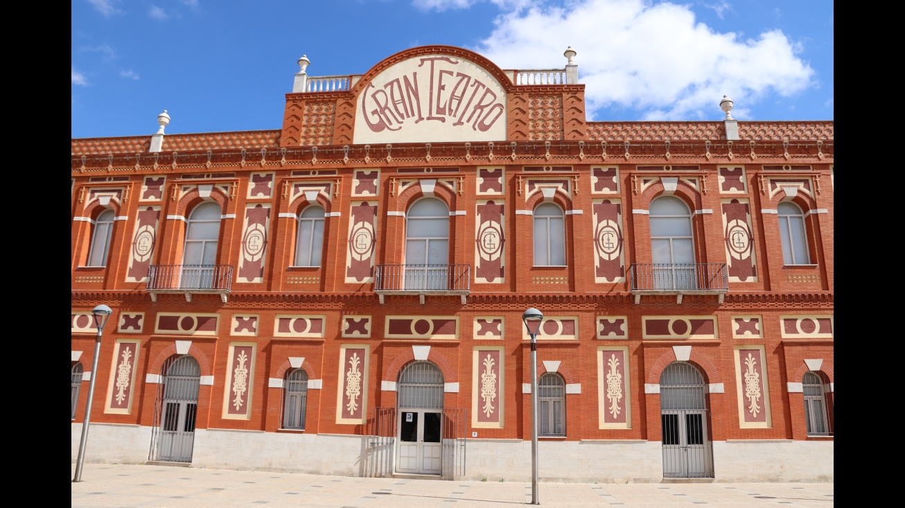Fachada del Gran Teatro