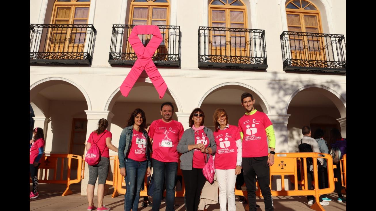 Marcha contra el cáncer de mama 2019